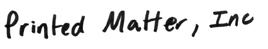 printedmatter.org